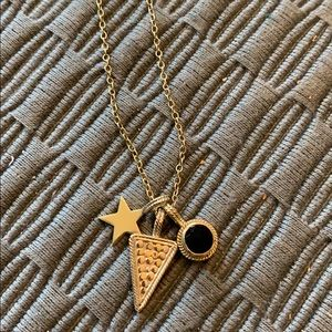 Anna Beck necklace with three charms